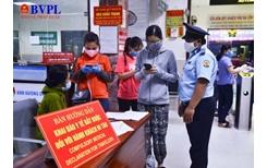 Quy trình kiểm soát dịch chặt chẽ tại chốt ga Đà Nẵng