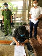 Vi phạm cách ly y tế, một thanh niên bị xử phạt