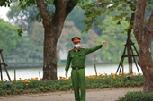 Hình ảnh Thủ đô Hà Nội ngày đầu tiên cách ly toàn xã hội
