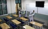Cơ sở giáo dục, đơn vị được sử dụng kinh phí chăm sóc sức khỏe ban đầu để mua thuốc sát trùng và xà phòng chống dịch COVID-19