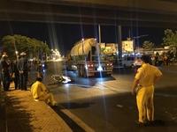 Tai nạn ở vòng xoay Bình Lợi, 2 thanh niên thương vong