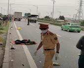 Một phụ nữ tử vong khi liều lĩnh đi bộ trên đường cao tốc