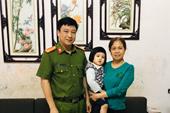 Cán bộ công an đi chống dịch, cứu sống bé 3 tuổi bị đuối nước