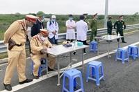 Hoạt động của 30 chốt giám sát giao thông Hà Nội trong ngày giỗ Tổ