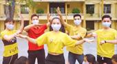 """Vũ điệu rửa tay Ghen Cô Vy """"cực chất"""" của sinh viên An ninh"""