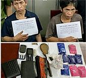 Bắt đối tượng mua bán ma túy, chống trả công an