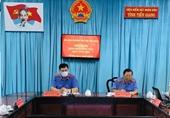 VKSND tỉnh Tiền Giang giao ban công tác quý I