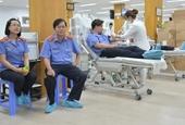 VKSND cấp cao tại TP HCM tham gia hiến máu tình nguyện