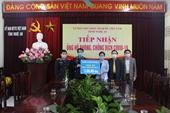 VKSND Nghệ An ủng hộ phòng, chống dịch COVID-19