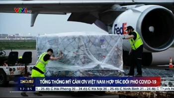 Tổng thống Mỹ cảm ơn Việt Nam hợp tác đối phó COVID-19