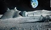 Sửng sốt về vật liệu xây dựng căn cứ trên Mặt trăng trong tương lai