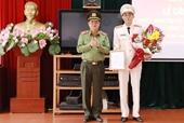 Thượng tá Hứa Việt Hưng được bổ nhiệm giữ chức vụ Trưởng Công an quận Long Biên