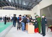 Bàn giao 368 công dân hoàn thành thời gian cách ly ở Hà Tĩnh