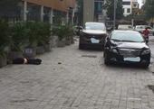 Hiện trường vụ người phụ nữ rơi từ tầng 23 tòa nhà Hồ Gươm Plaza