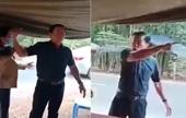 Phó chủ tịch HĐND huyện đập bàn, lăng mạ tại chốt chống dịch bị đình chỉ công tác