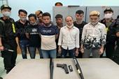 Bắt gọn Thảo ma và đồng bọn giải quyết mâu thuẫn bằng súng ở Đồng Nai