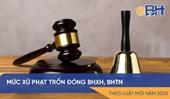 Các mức xử phạt vi phạm hành chính trong lĩnh vực BHXH có hiệu lực từ ngày 15 4 2020