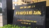 Phê chuẩn lệnh bắt tạm giam Phó Giám đốc Sở TN-MT tỉnh Lạng Sơn