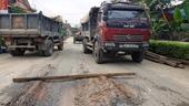 Hà Tĩnh Xe tải rầm rập cày nát đường dân sinh phục vụ thi công dự án hơn 9 tỉ đồng