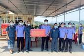VKSND tỉnh Thừa thiên - Huế hỗ trợ VKSND tỉnh Salavan chống dịch COVID-19