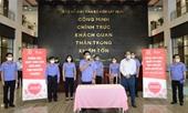 Cán bộ, công chức, người lao động của VKSND tối cao tham gia hiến máu tình nguyện