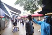 Test nhanh virus SARS- CoV-2 tại các chợ lớn ở Hà Nội