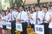 Thi vào lớp 10 tại Hà Nội Bỏ môn thi thứ 4 để giảm áp lực cho học sinh