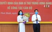 Trao quyết định chuẩn y nữ Phó Chủ nhiệm Ủy ban Kiểm tra tỉnh Thái Bình