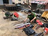 Sơn La tiêu hủy số lượng khủng vũ khí, công cụ hỗ trợ