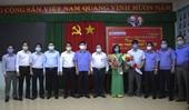VKSND cấp cao tại TP HCM trao tặng thiết bị, vật tư y tế phòng, chống dịch ở Đồng Nai