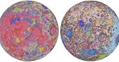 Lần đầu tiên lập bản đồ chi tiết về địa chất Mặt trăng