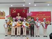 Công bố quyết định sáp nhập các trường trung cấp vào Trường Cao đẳng Cảnh sát