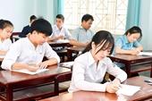 Các trường ĐH-CĐ có thể sử dụng kết quả thi tốt nghiệp THPT làm căn cứ để xét tuyển