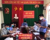 VKSND huyện Đắk Glong Tổ chức giao ban công tác liên ngành