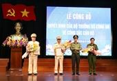Bổ nhiệm 2 Phó giám đốc Công an tỉnh Hà Tĩnh