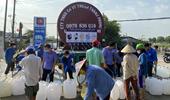 VKSND tỉnh Tiền Giang hỗ trợ nước sinh hoạt cho nhân dân vùng hạn, mặn
