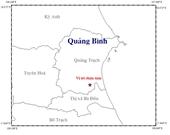 Động đất mạnh 3,6 độ richter tại Quảng Bình