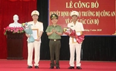Phó Giám đốc Công an tỉnh Bình Định làm Giám đốc Công an tỉnh Quảng Ngãi
