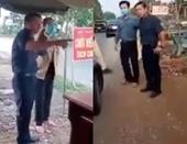 Miễn nhiệm chức Phó Chủ tịch HĐND huyện lăng mạ tổ kiểm dịch