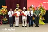 Bổ nhiệm lãnh đạo 8 đơn vị Công an nhân dân