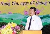 Chủ nhiệm UBKT Tỉnh ủy được bầu giữ chức Chủ tịch HĐND tỉnh Hưng Yên
