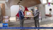 Việt Nam tặng khẩu trang y tế cho các hội đoàn và bạn bè Pháp