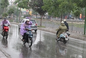 Ảnh hưởng của không khí lạnh, miền Bắc có mưa diện rộng