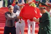 Đón nhận và an táng 9 hài cốt liệt sĩ hi sinh ở nước bạn Lào
