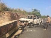 Vụ thi thể cháy đen trong xe ô tô Nghi phạm khai gì tại Cơ quan điều tra