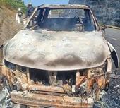 Vụ thi thể cháy đen trong xe ô tô Thông tin sốc về nghi phạm
