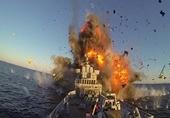 Tàu chiến Iran chìm sau khi trúng tên lửa trong cuộc tập trận