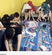 """Thuê khách sạn, hơn 60 thanh niên """"chơi"""" ma túy tập thể"""