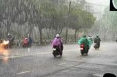 Bắc Bộ và Bắc Trung Bộ mưa diện rộng, khả năng xảy ra lốc, sét, mưa đá