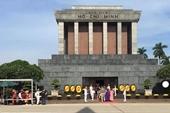 Lăng Chủ tịch Hồ Chí Minh mở cửa trở lại từ ngày 12 5